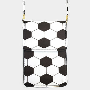 SOCCER TOUCH VIEW CELL PHONE CROSS BAG