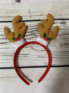 CHRISTMAS TAN EARS HEADBAND
