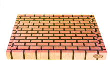 Brick Pattern End Grain Cutting Board (3 Styles)