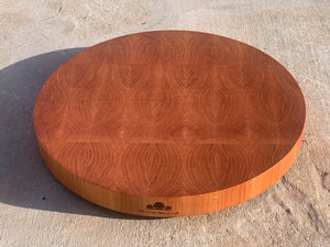 "16"" Round End Grain Cutting Board"