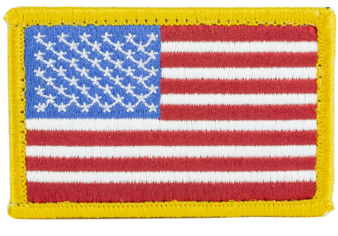 BlackHawk Colored US Flag Patch