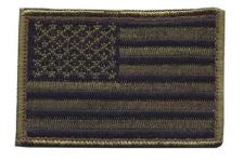 BlackHawk US Flag OD/Black