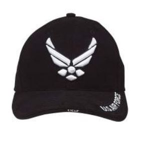 Deluxe U.S. Air Force Wing Insignia Cap