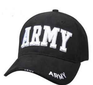 Deluxe Army Embroidered Insignia Cap