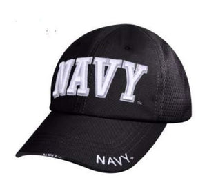 Navy Mesh Back Tactical Cap