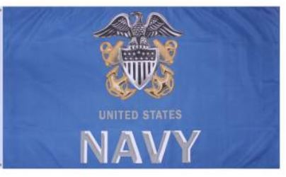 U.S. Navy Anchor Flag