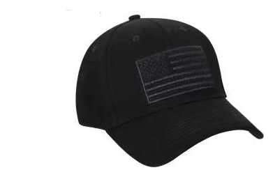 Hook and Loop Flag Patch Cap