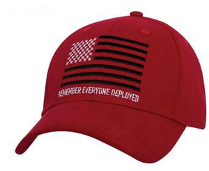 R.E.D. (Remember Everyone Deployed) Cap