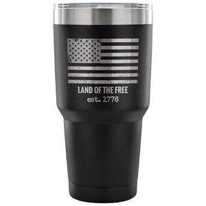 Land Of The Free Vacuum Sealed Mug