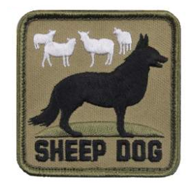 Sheep Dog Patch