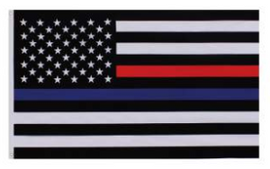 Thin Red And Blue Line