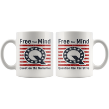 Q Anon Free Your Mind Cup