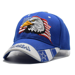 USA Flag Eagle Hat