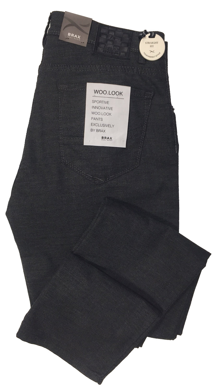 Pantalon ''wool look''