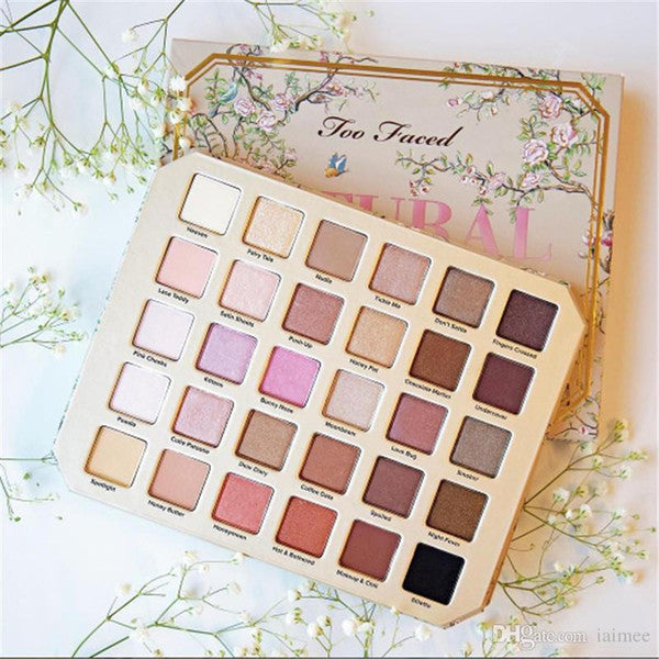Two-Faced Chocolate Natural Love Eyeshadow Collection