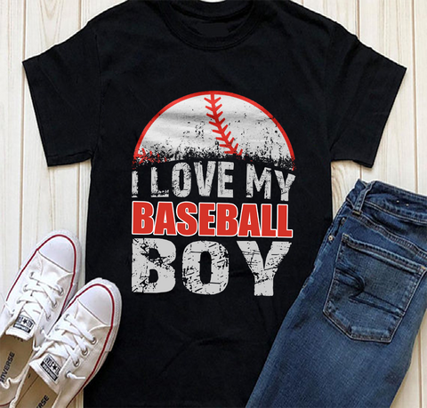 i love my baseball boy