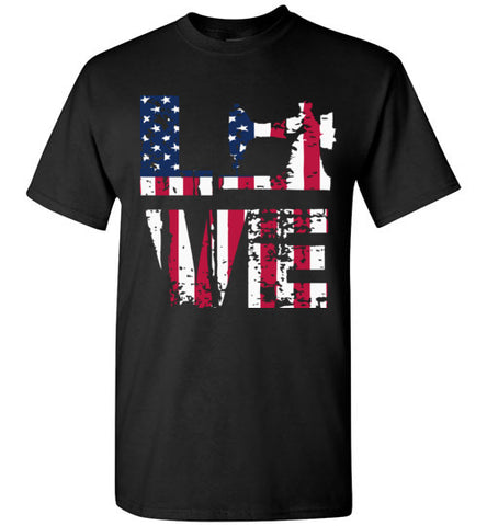 love sewing flag usa