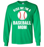 Baseball mom Shirt gift for patrick's day