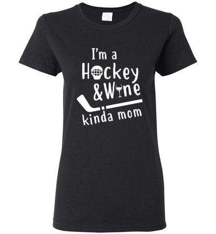 hockey wine kinda mom