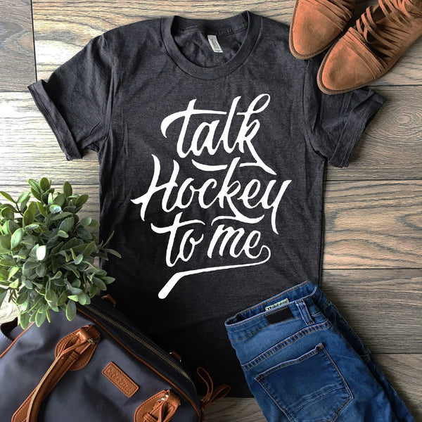 talk hockey to me