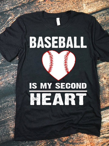 BASEBALL IS MY SECOND HEART