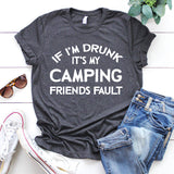 camping friends fault
