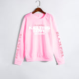 XUANSHOW Unisex Lovers Clothes Korean BLACKPINK KILL THIS LOVE Album Letters Sweatshirt Man Woman Pullover Sudadera Mujer