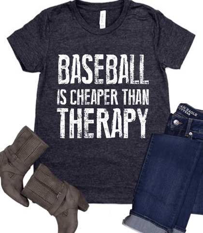 BASEBALL IS CHEAPER THAN THERAPY