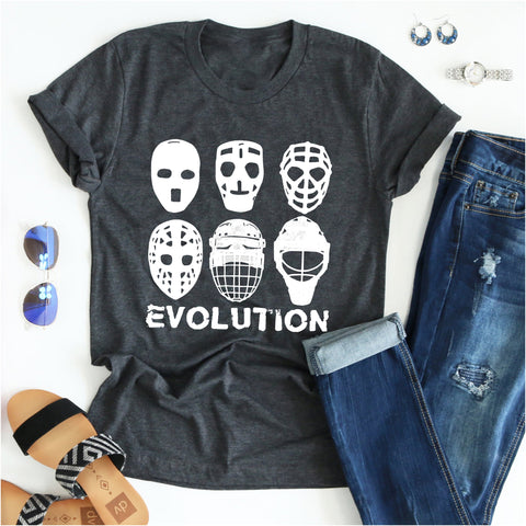 hockey goalie evolution