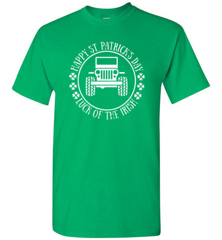 JEEP SHIRT GIFT FOR PATRICK'S DAY