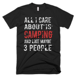camping Short-Sleeve T-Shirt