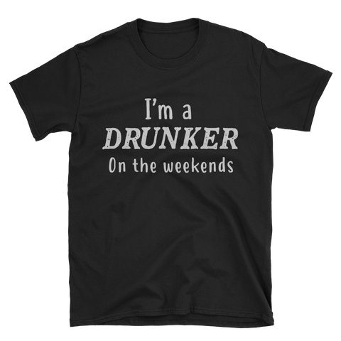 drunker Short-Sleeve Unisex T-Shirt