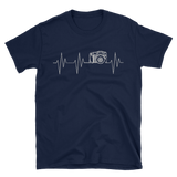 photography heartbeat Short-Sleeve Unisex T-Shirt