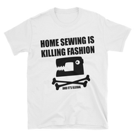 sewing Short-Sleeve Unisex T-Shirt