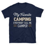 camping Short-Sleeve Unisex T-Shirt