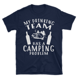 camping team Short-Sleeve Unisex T-Shirt