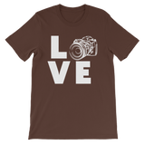 love photography Short-Sleeve Unisex T-Shirt
