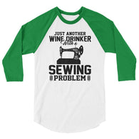 sewing 3/4 sleeve raglan shirt