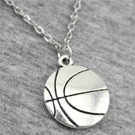 WYSIWYG 22*18mm Basketball Pendant Necklace Jewelry, Handmade Necklace Gift For Women