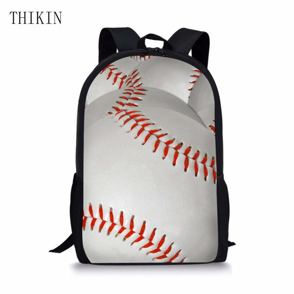THIKIN Kids School Bags For Boys Backpack Kid Baseball  Primary School Backpacks Children Mochila Satchel