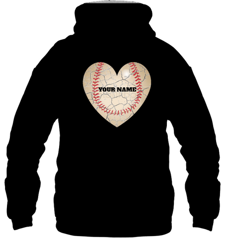 BASEBALL Canvas Poly-Cotton Hoodie