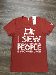 i sew because punching people is frowned upon