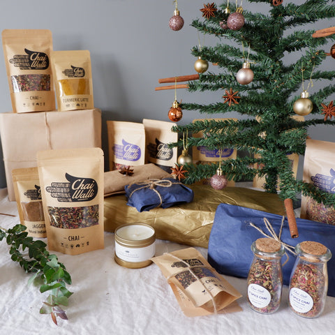 Chai Walli Christmas Gifts under the Christmas Tree