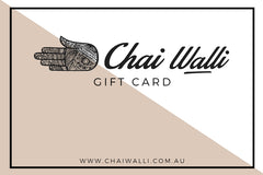 Chai Walli gift certificate for christmas