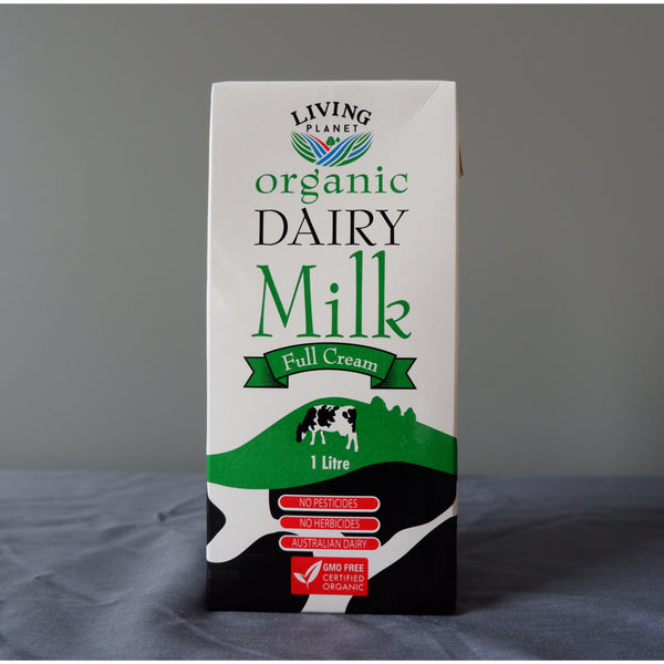 Organic Cow's Milk (Long Life) 1L