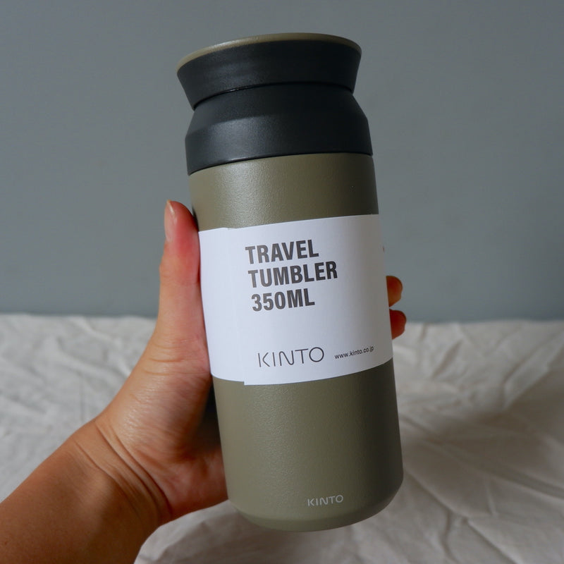 Kinto Thermal Mug 350ml - Khaki