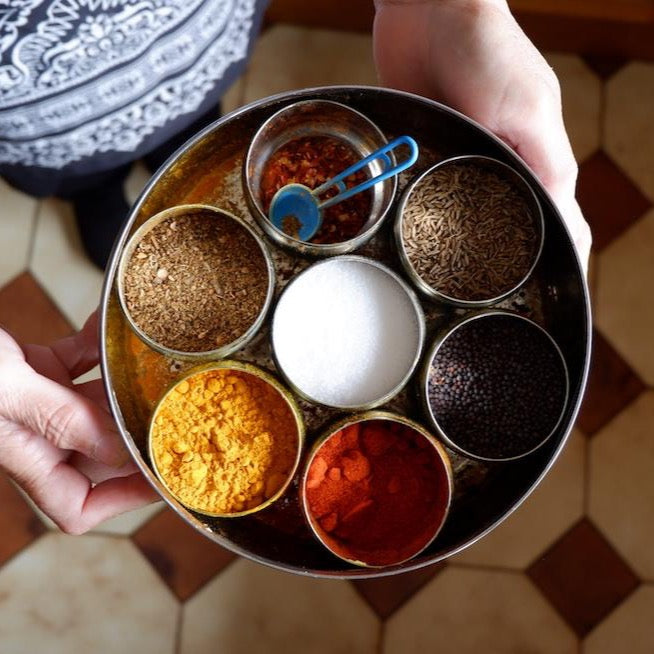 thali-spice-box-masala-dhaba-container-storage-indian-herbs-kitchen-australia-cooking-online-airtight-traditional-chai-walli