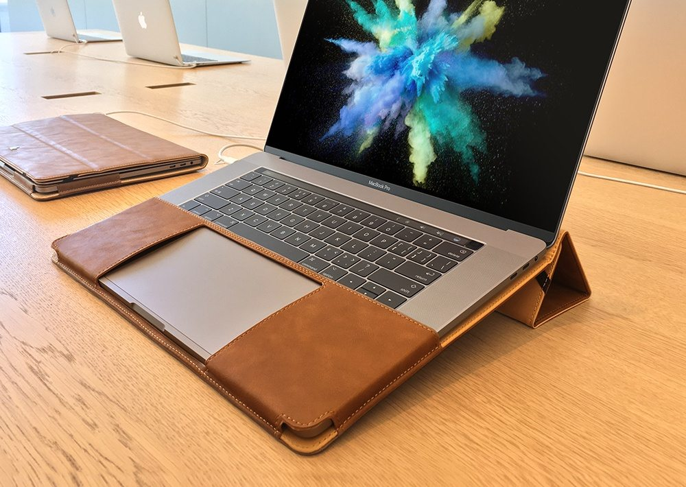 About Our Split Leather Laptop Case for MacBook