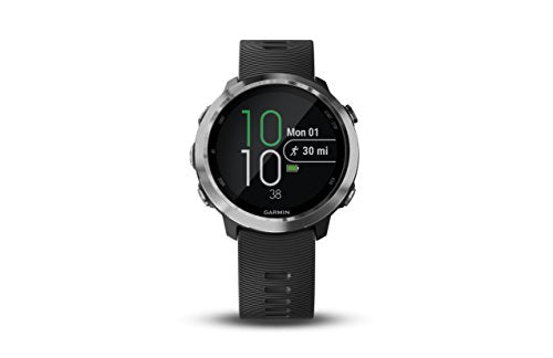 Garmin Forerunner 645 Music, GPS Running Watch with Pay Contactless Payments, Wrist-Based Heart Rate and Music, Black - yrGear