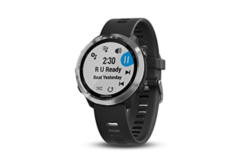 Garmin Forerunner 645 Music, GPS Running Watch with Pay Contactless Payments, Wrist-Based Heart Rate and Music, Black - yrGear Australia